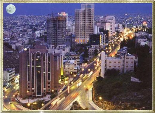 ankunft in der hauptstadt jordaniens. Black Bedroom Furniture Sets. Home Design Ideas