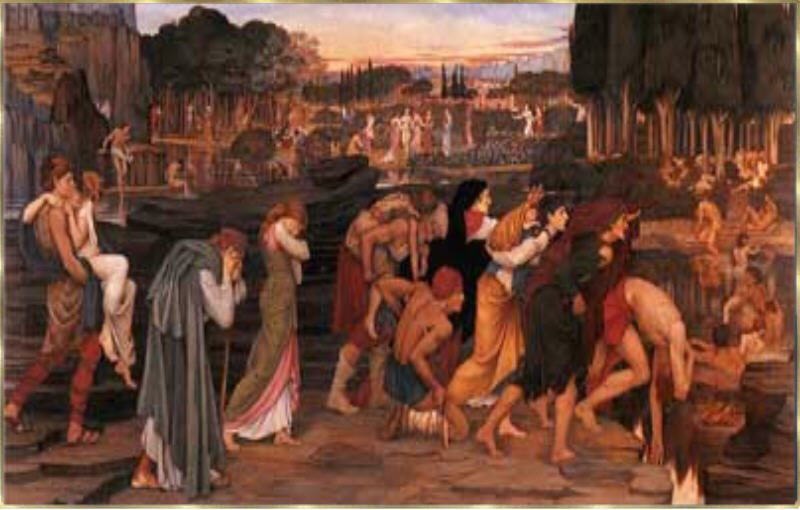 himmel griechische mythologie