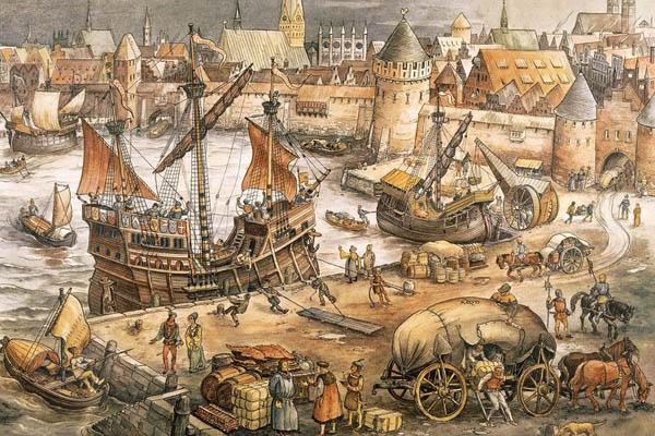 Hanse Im Mittelalter
