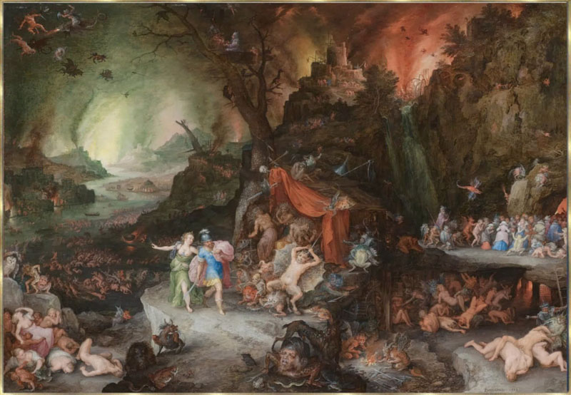 love and suffering in the adventures of virgils the aeneid and inferno by dante Virgil's aeneid book 6  after several adventures, and much suffering  a beautiful young queen who soon fell passionately in love with him.