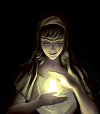 Göttin Des Herdes